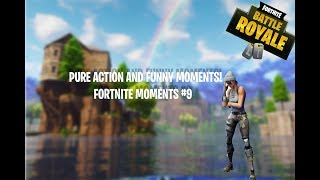 PURE ACTION AND FUNNY MOMENTS! l Fortnite Battle Royale Highlights #9 ft  MetalHarp43, MidnightNINJ2