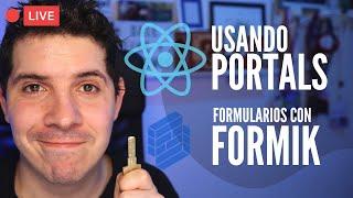 Registro de usuario con Formik, React.createPortal y gestión de favoritos en nuestra app de ReactJS