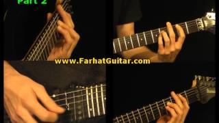 Afraid To Shoot Stranger - Iron Maiden-  Part 2/11 www.FarhatGuitar.com
