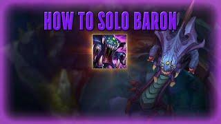 how 2 solo baron
