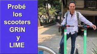 Cómo usar los scooters grin y lime