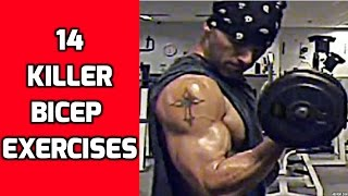 14 Killer Bicep Exercises to mix up your Arm Workouts