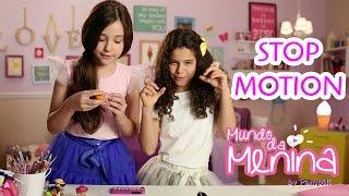 Como fazer animação com bonecas com a Camila e a Gabriela | ❤ Mundo da Menina
