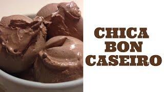 Sorvete CHICABON caseiro de chocolate - Fácil e Rápido!