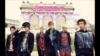 [AUDIO] (Sub español) Teen Top - Troublemaker (Olly murs ft. Flo rida)