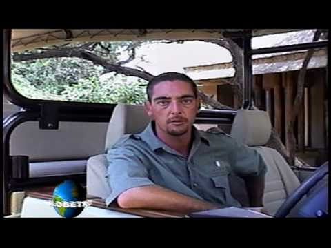 GlobeTrotter Jon Haggins TV in Krugar Park , South Africa