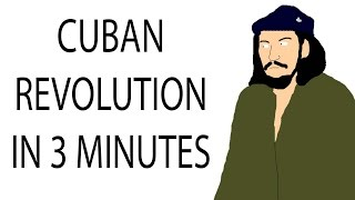 Cuban Revolution   3 Minute History