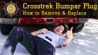 Subaru Crosstrek - How To Remove & Replace Rear Bumper Plug