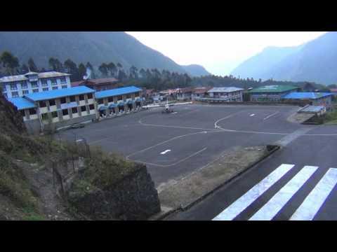 Lukla Landing and Take-off WMV.wmv