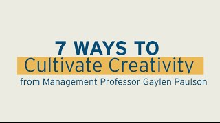 7 Creativity Boosters