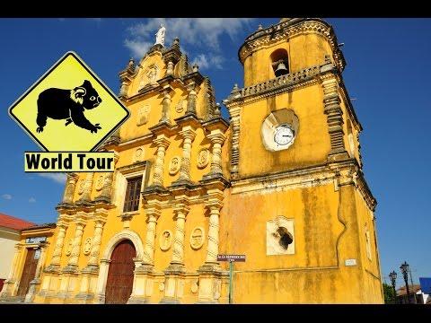 Voyage au Nicaragua Leon, Hervideros a San Jacinto Maryse & Dany © Youtube