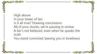 Axel Rudi Pell - Tower of Lies Lyrics