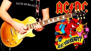 'Rock Or Bust' by AC/DC - FULL BAND COVER - Performed by  Karl, Lee, Luke & Lion