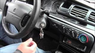 How to Remove Stuck Key from Ignition
