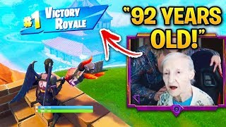 Fortnite Streamers YOU WON'T BELIEVE EXIST! (No Hands, Deaf Player, 92 Years Old)