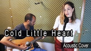 Michael Kiwanuka - Cold Little Heart (Acoustic Cover) // Live Session with Liat Zidkiyho & idov shai