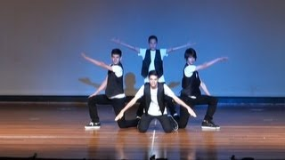 Da Poppin' Boyz (Crew)-Chris Brown Mastermix : CGDS Performance