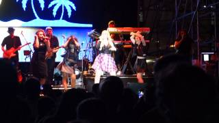 "Meghan Trainor performs ""Feels Better When I'm Dancing"" @ JBL Live Pier 97 Concert"
