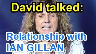Whitesnake Fan Channel ☆David Coverdale interviewed; relationship with Ian Gillan
