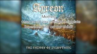 Ayreon-The Argument 1, Lyrics and Liner Notes