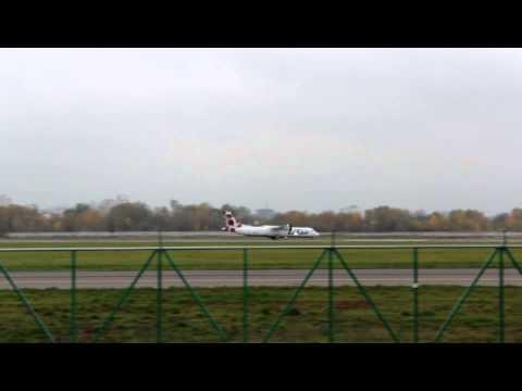 UTair ATR-72 at Kiev Zhulyany – Take off