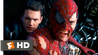 Spider-Man 3 (2007) - Spider-Man & Goblin vs. Sandman & Venom Scene (9/10) | Movieclips