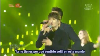 god - One Candle (Sub Español) @ I'm Korea 2015