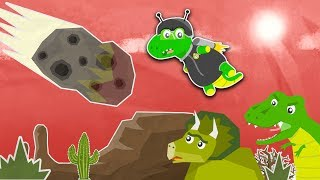 Why Did The Dinosaurs Die?   Dinosaurs for Kids