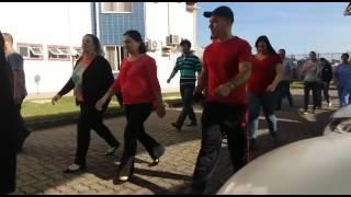 Dia do desafio 2017 - GINÁSTICA LABORAL PREFEITURA DE LOUVEIRA