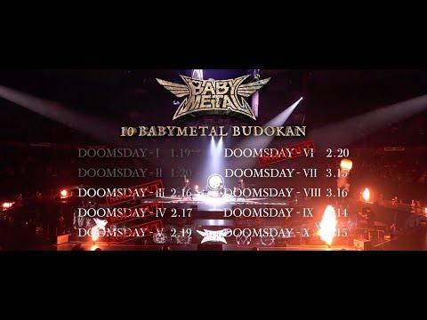 BABYMETAL - 10 BABYMETAL BUDOKAN Kick Off Trailer