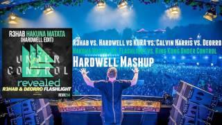 R3hab vs. Hardwell vs. Calvin Harris - Hakuna Matata vs. King Kong Under Control (Hardwell Mashup)