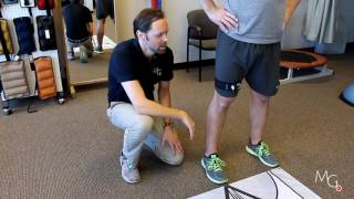 squat mechanics with visual feedback