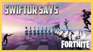 Swiftor Says in Fortnite Creative #7! Very Bad Bald Man.