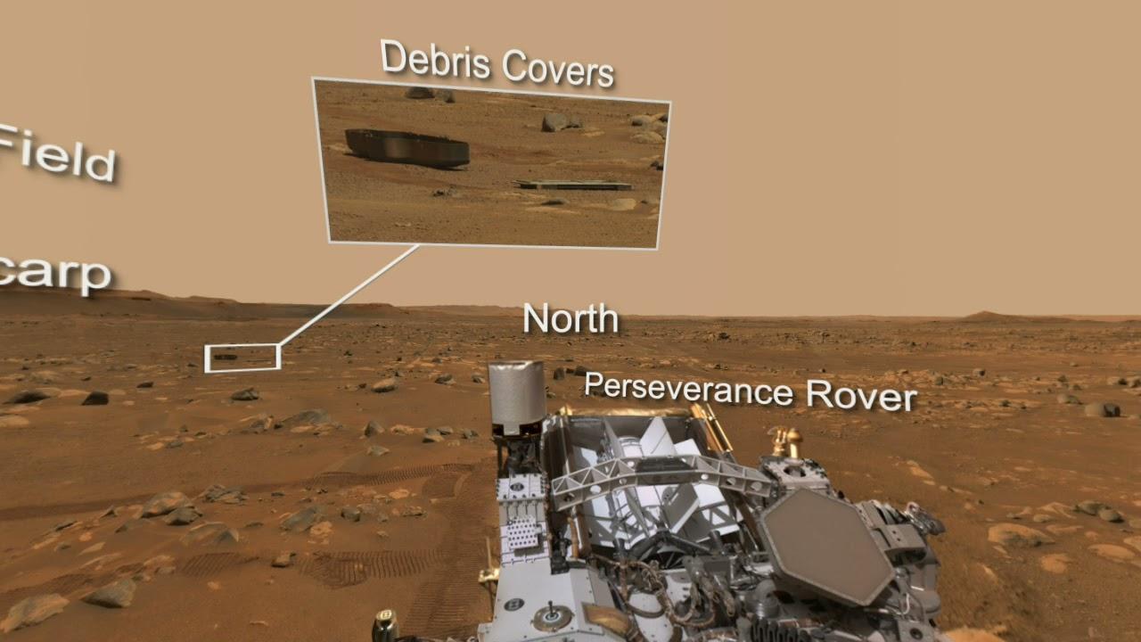 Perseverance Mars Rover's Mastcam Z View of 'Van Zyl Overlook' 360 Video + Audio