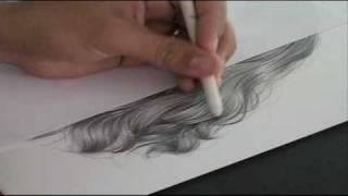 Como Desenhar Cabelos passo a passo - DVD vol.03 - Charles Laveso