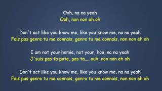 Jax Jones   You Don't Know Me ft  RAYE Traduction FR