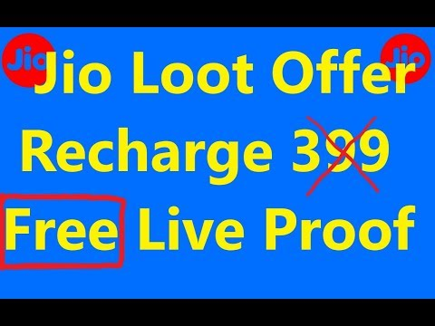 Download thumbnail for Jio Live Proof of Rs 399/- Free