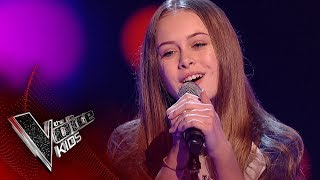 Erin L performs 'All About You': Blinds 2 | The Voice Kids UK 2017