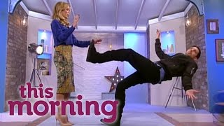 Dynamo Levitates Live | This Morning