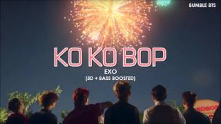 [3D+BASS BOOSTED] EXO (엑소) - KO KO BOP (KOREAN VER. + ENGLISH SUB) | bumble.bts
