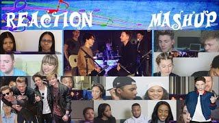 Ed Sheeran - Shape Of You (SING OFF vs. The Vamps) Reaction Mashup