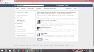 Como dejar de administrar una pagina de facebook