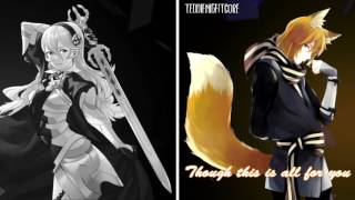 Nightcore - Demons (Switching Vocals) (cover) [Lyrics]