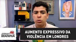 Aumento expressivo da violência em Londres preocupa britânicos