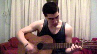 Cover(Acoustic)   Good Charlotte - The Anthem