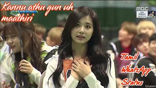 Korean girl Tzuyu Archer Cute expressions| Tamil WhatsApp status |Kannu athu gun uh Mathiri song.... width=