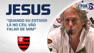 FLAMENGO GOLEIA O CEARÁ NO MARACANÃ! Jesus fala ao vivo após a comemoração do título brasileiro