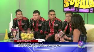 Los Sobrinos de Sinaloa llegan a nuestro estudio y Gaby Romero habló con ellos