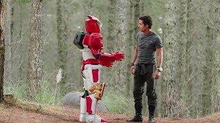 Power Ranger Ninja Steel   Brody escapa de la nave de Galvanax -  Capitulo 1