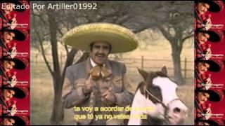 Vicente Fernandez Con Banda Por un vestido de novia con letra Audio Mejorado 2015